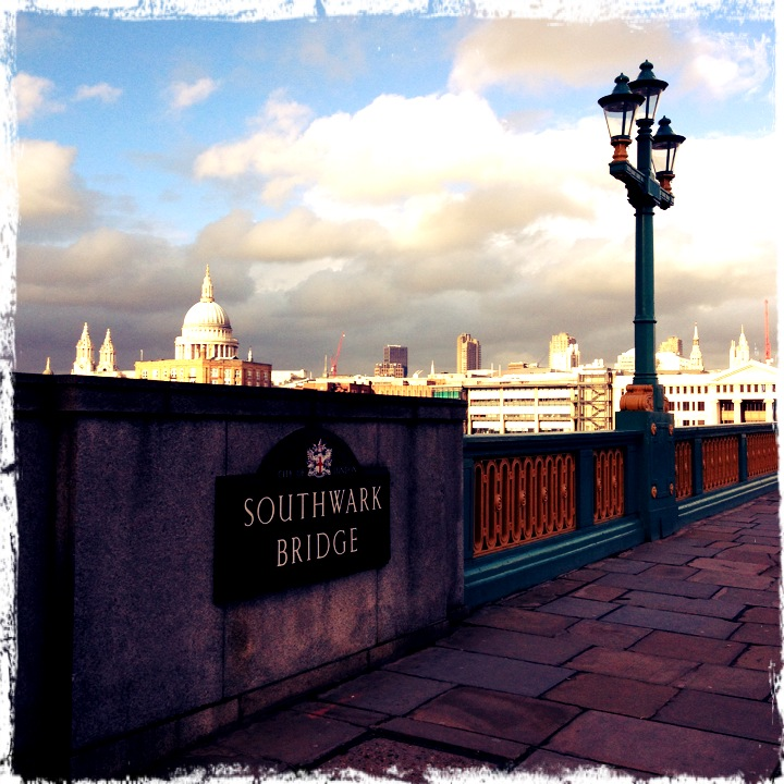 St Paul's from Southwark Bridge