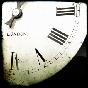 Clock-face made in London