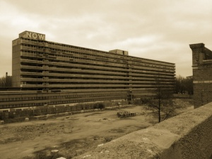 The Heygate Estate in Walworth, now demolished